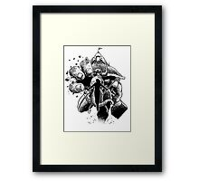 Part 19 - the Bullrock Charges... Framed Print
