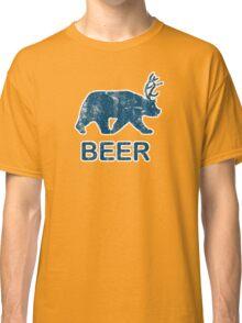 Vintage Beer Bear Deer Classic T-Shirt