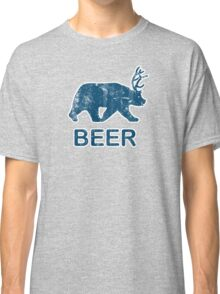 Vintage Beer Bear Deer Classic T-Shirt