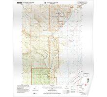 USGS Topo Map Oregon Sycan Marsh West 281733 2004 24000 Poster