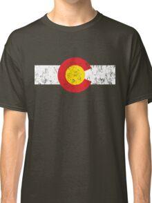 Vintage Colorado Flag Classic T-Shirt