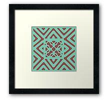 Art Chevron Framed Print