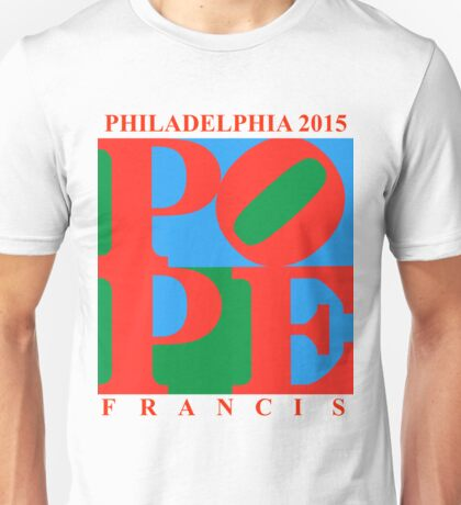 Love Park Pope Unisex T-Shirt