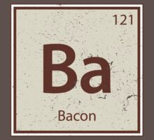 Vintage Bacon Periodic Table Element One Piece - Short Sleeve