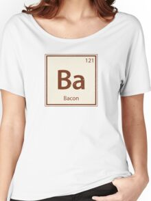 Vintage Bacon Periodic Table Element Women's Relaxed Fit T-Shirt