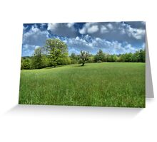 Appalachian Green Greeting Card