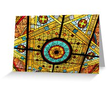 Opryland Hotel Stained Glass Greeting Card