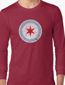 Vintage Chicago Star Long Sleeve T-Shirt
