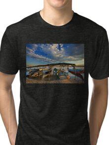 Boat parking Tri-blend T-Shirt