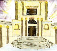 holy temple by Elka Melamed