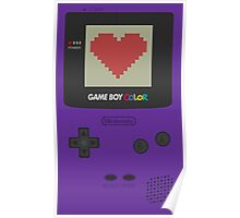 GAME BOY COLOR <3 Poster