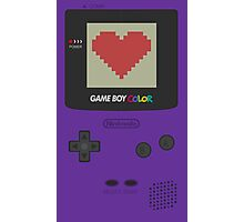 GAME BOY COLOR <3 Photographic Print
