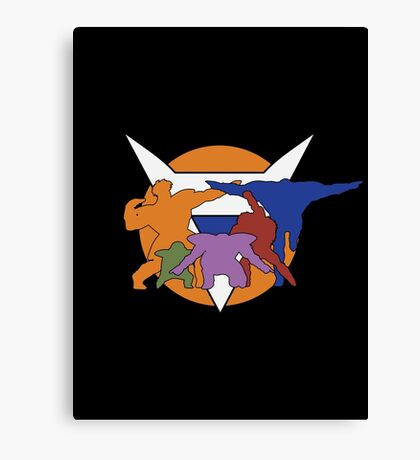 Ginyu Force Pose and Logo (Dragonball Z) Canvas Print