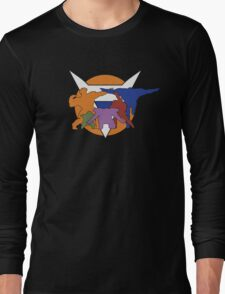 Ginyu Force Pose and Logo (Dragonball Z) Long Sleeve T-Shirt
