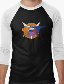 Ginyu Force Pose and Logo (Dragonball Z) Men's Baseball ¾ T-Shirt