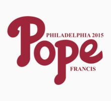 Pope Phillies Logo Mash Up by zenjamin