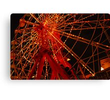 Luna Park Ferris Wheel Canvas Print