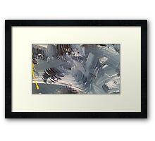 Abstract Blue1 Framed Print