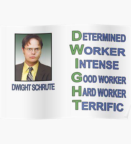 Dwight Schrute Poster