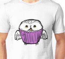 Snowy Owl Cupcake Unisex T-Shirt