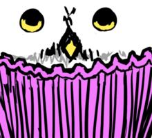 Snowy Owl Cupcake Sticker