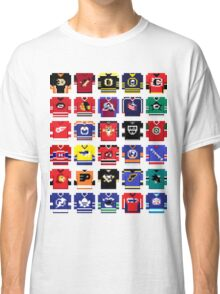 8-Bit Hockey Jerseys '16 Classic T-Shirt