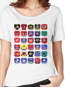 8-Bit Hockey Jerseys '16 Women's Relaxed Fit T-Shirt