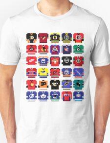 8-Bit Hockey Jerseys '16 T-Shirt
