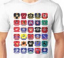 8-Bit Hockey Jerseys '16 Unisex T-Shirt