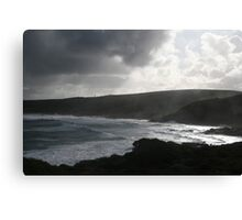 The secluded beach Canvas Print