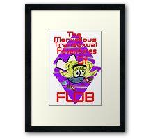 Adventures Of Flob Framed Print