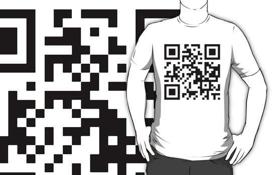 QR code - I'M SO HIP IT HURTS. by AdamMcmanus