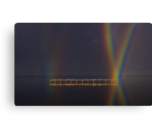 """Perched At Rainbows Crossing"" Canvas Print"