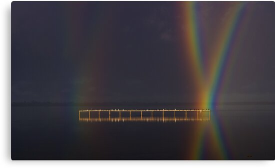 """""""Perched At Rainbows Crossing"""" by Phil Thomson IPA"""