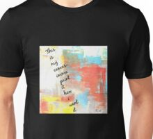 J.Cole lyric- this is my canvas Unisex T-Shirt