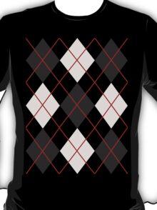 Preppy Diamonds (Black and White) T-Shirt
