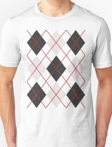 Preppy Diamonds (Black and White) T-Shirt