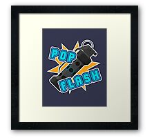 Pop Flash Framed Print