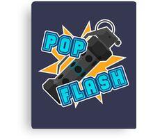 Pop Flash Canvas Print