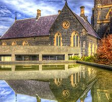 St Patrick's Reflection by Robert  Welsh