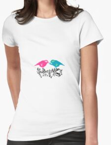 Can You Feel the Butterflies? Womens Fitted T-Shirt
