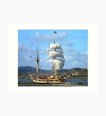 Tall Ships Art Print