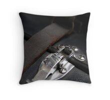 Clipped macro Throw Pillow