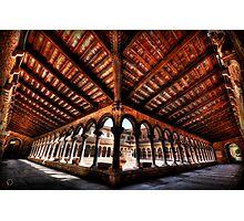 Cemetery Courtyard - Isola di San Michele, Venice Photographic Print