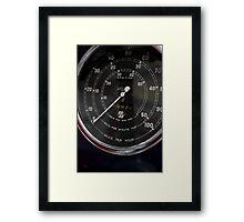 14475 ... miles Framed Print