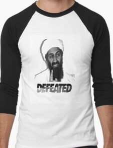 Osama Defeated Men's Baseball ¾ T-Shirt