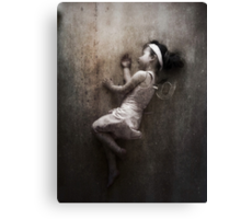 The Clockwork Ballerina Sleeps Canvas Print