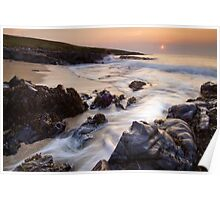 Outer Hebrides Sunset Poster