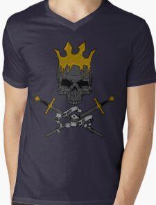 Game of Crossbones Mens V-Neck T-Shirt
