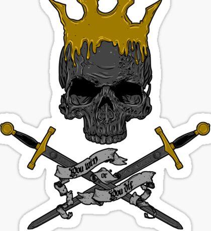 Game of Crossbones Sticker